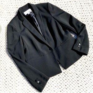 Bar III Tuxedo Style Front Button Jacket Coat